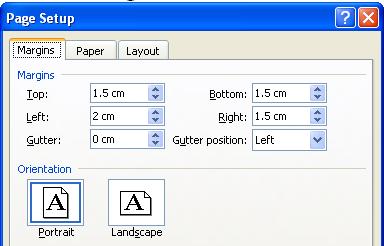 Hướng dẫn Word 2003 cơ bản: định dạng tài liệu, Header và Footer - Phần 7