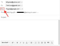 BCC - Cách gửi email cho nhiều người nhưng bảo mật địa chỉ
