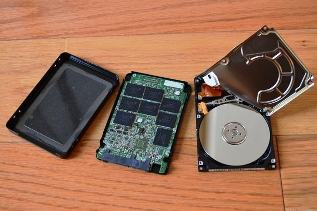 Ổ cứng HDD và ổ SSD
