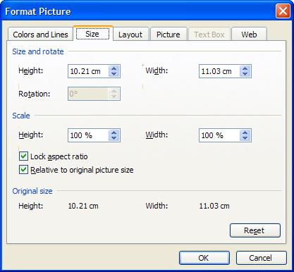Làm việc với hình ảnh, biểu đồ trên Microsoft Word 2003 - Phần 10
