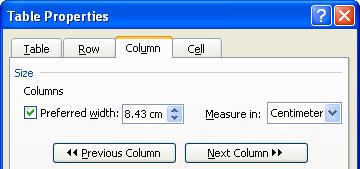 Hướng dẫn Word 2003 cơ bản: đánh số trang, xử lý bảng - Phần 8
