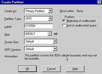 Phân vùng đĩa cứng bằng Partition Magic Pro 8
