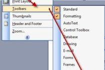 Tạo mục lục cho văn bản trong Microsoft Word 2003