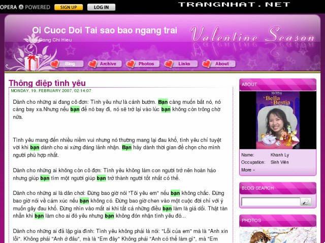 5 mẹo làm chủ blog Yahoo