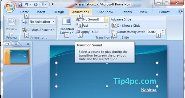 Tự soạn bài thuyết trình với Microsoft PowerPoint 2007 (phần 2)