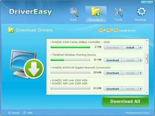 Dò tìm và cập nhật Driver tự động với DriverEasy