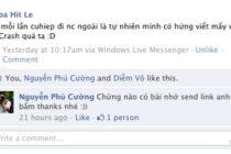 StatusVia: Gửi nội dung lên facebook từ nhiều thiết bị
