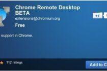 Truy cập từ xa qua Chrome Remote Desktop