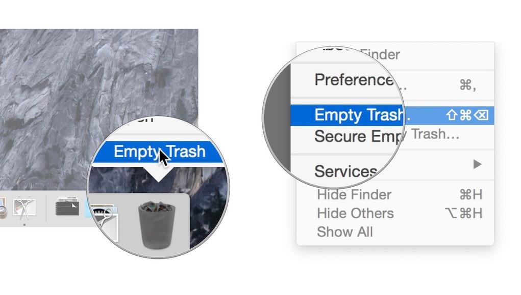 Cách xóa dữ liệu an toàn trên hệ điều hành macOS