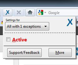 anonymoX: Upload ảnh lên Facebook với add-ons Firefox