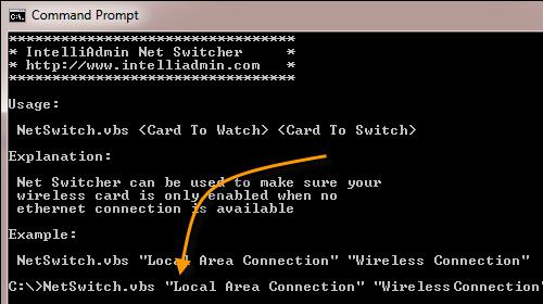Tự động bật/tắt card mạng trong hệ điều hành Windows