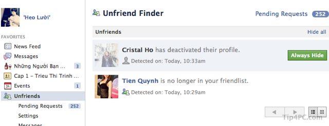 Unfriend Finder - Xem ai đã hủy kết bạn trên Facebook
