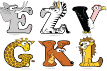 Alphabetimals: Giúp trẻ học chữ cái qua hình các loài vật