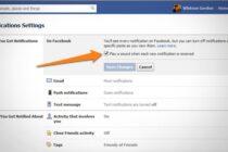 Tắt tiếng khi có Notification mới từ Facebook
