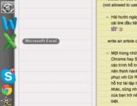 Tạo khoảng trống giữa các icon nằm ở Dock trên macOS