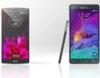 LG G Flex 2 vs Samsung Galaxy Note 4: Đâu là vua phablet?