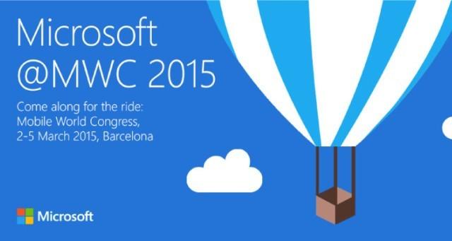 Microsoft sẽ tổ chức sự kiện ra mắt sản phẩm mới vào ngày 02/03 trước thềm MWC 2015