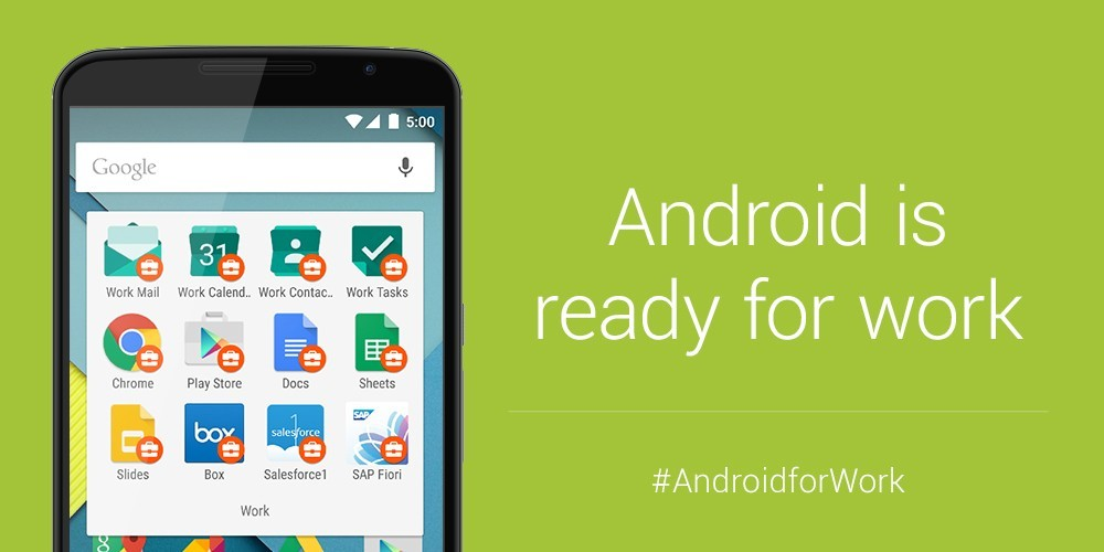 Google ra mắt Android for Work