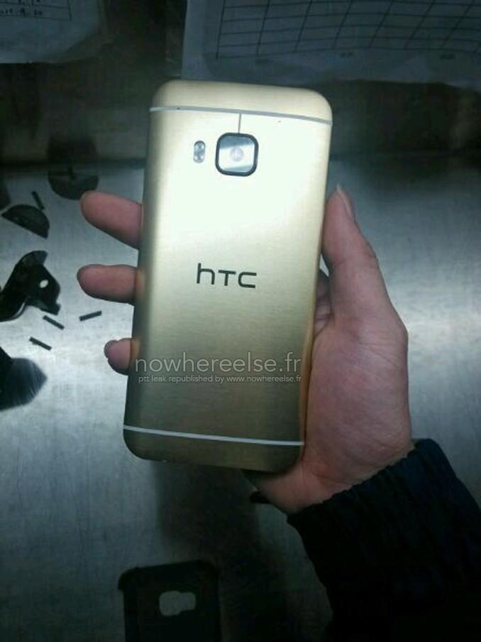 Lộ diện hình ảnh thực tế HTC One M9 Gold