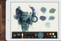 Ứng dụng Paper trên iPad miễn phí toàn bộ cọ vẽ