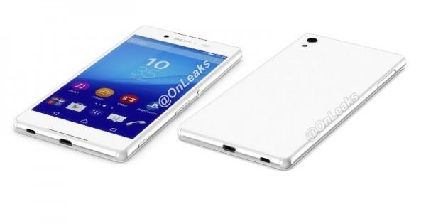 Sony Xperia Z4 3D Render