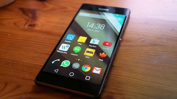 Sony Xperia Z3 cập nhật Android Lollipop