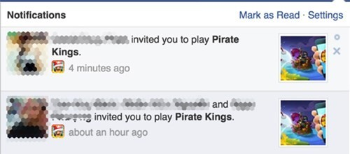 Các lời mời chơi game phiền toái trên Facebook