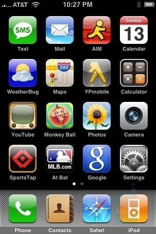 iPhone OS 2: Ra mắt năm 2008, iPhone OS 2 lấp vào những khoảng trống mà phiên bản đầu tiên còn thiếu. Apple giới thiệu App Store, cho phép tải ứng dụng, trò chơi và nhiều tiện ích khác. Bản cập nhật này cũng giúp cho việc tìm kiếm trong danh bạ dễ dàng hơn. Ngoài ra, Apple còn trang bị thêm cho iPhone ứng dụng máy tính.