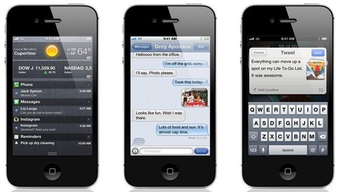 iOS 5: Đây là phiên bản có nhiều cải tiến nhất với trên 200 tính năng mới như: Trung tâm Thông báo, iMessage, Siri, iCloud, tích hợp sâu Twitter, hỗ trợ Game Center,… Trình duyệt mặc định Safari cũng được làm mới giúp người dùng có trải nghiệm tốt hơn khi duyệt web. iOS 5 cũng là phiên bản đầu tiên cho phép người dùng cập nhật phiên bản mới bằng Over the Air. Nhìn chung iOS 5 là bản cập nhật có nhiều thay đổi nhất trong lịch sử iOS.