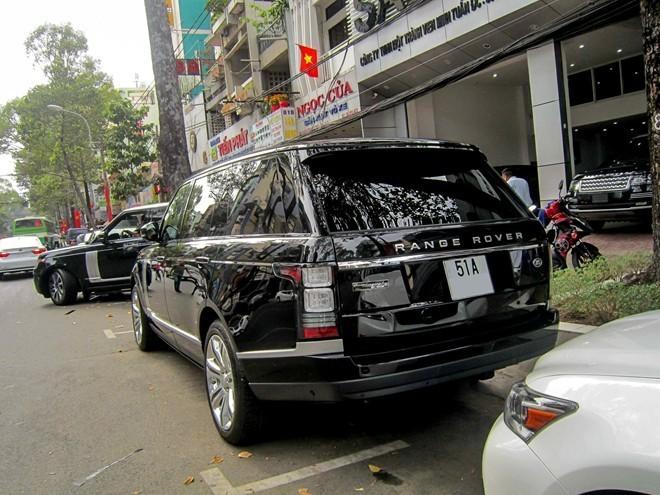 Range Rover Autobiography Black được giới hạn số lượng sản xuất 100 chiếc trên toàn cầu. Ảnh: TNTBros.