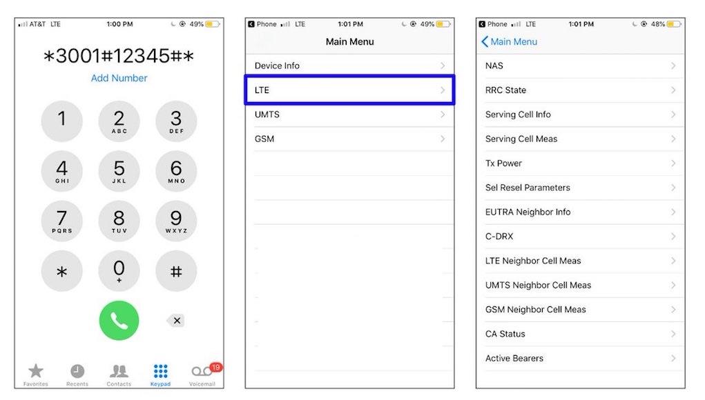 Cách truy cập vào menu ẩn trên iPhone và Android Phone