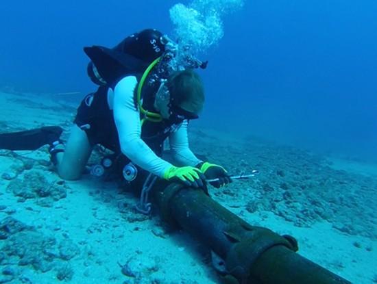 Kể từ khi được đưa vào hoạt động năm 2009, tuyến cáp quang biển quốc tế AAG đã nhiều lần gặp sự cố (Ảnh minh họa. Nguồn: Internet)
