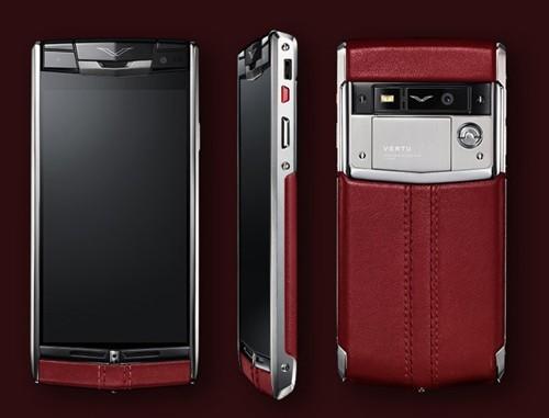 Vertu V06 - smartphone dành cho nhà giàu, mức giá... 5.500 USD