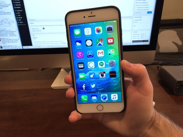 Mô phỏng cách thức hoạt động của màn hình Force Touch trên iPhone 6S