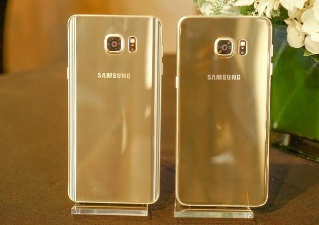 Samsung chính thức trình làng Galaxy Note 5 và Galaxy S6 edge plus