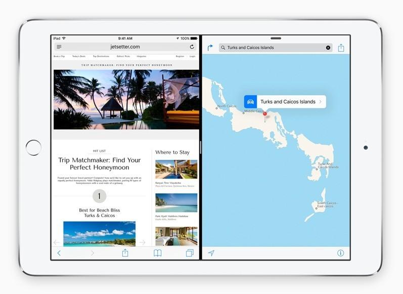 Tính năng chia đôi màn hình sẽ có mặt trên iPad mini 4