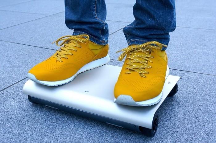 Walkcar - thiết bị di chuyển nhỏ gọn có kích thước chỉ bằng 1 chiếc tablet