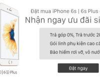 Viễn Thông A ưu đãi mua trả góp iPhone 6s / 6s Plus
