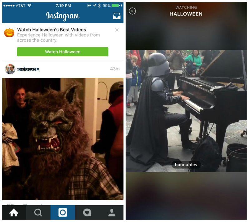 Instagram học theo tính năng của Snapchat Twitter