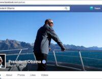 Tổng thống Mỹ Barrack Obama có fanpage Facebook riêng