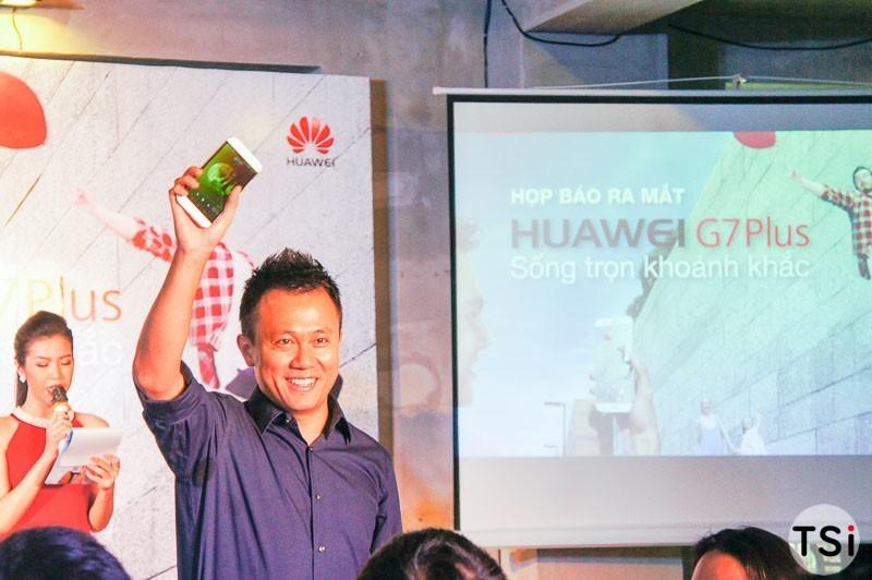 Huawei G7 Plus giá 9 triệu đồng