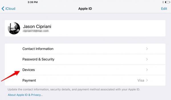 Cách quản lý thiết bị được kết nối tới tài khoản iCloud trên iPhone/iPad