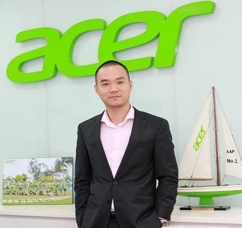 Ông Võ Ngọc Diên sẽ giữ chức vụ Tổng giám đốc Công ty TNHH Acer Việt Nam kể từ ngày 2 tháng 11 năm 2015.