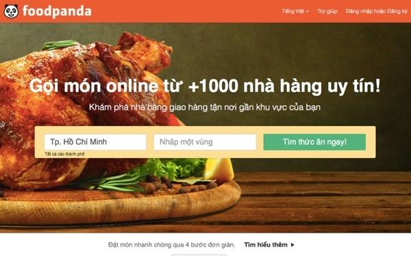 Website foodpanda.vn vẫn hoạt động tại thời điểm viết bài, trưa ngày 3/12/2015 - Ảnh chụp màn hình