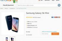 Galaxy S6 Mini màn 4,6 inch lộ diện ở trang bán hàng trực tuyến