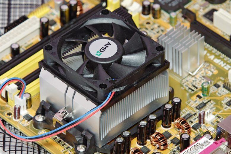 Quạt tản nhiệt cho CPU trong máy tính