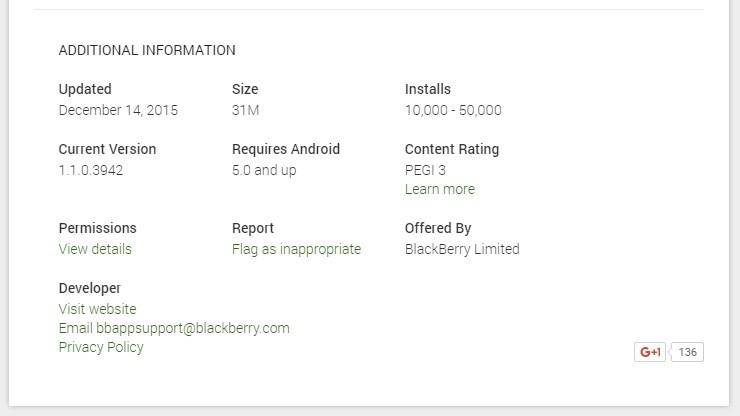 Xuất hiện thông tin BlackBerry Priv bán chưa đến 50.000 máy