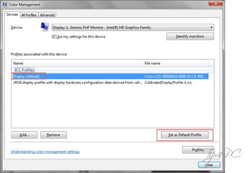 Đổi hệ màu của Windows sang Mac OS