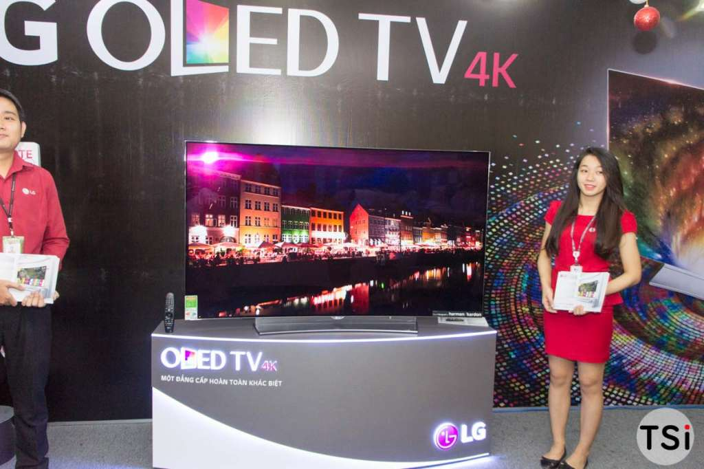 LG chính thức giới thiệu TV OLED 4K cao cấp tại Việt Nam