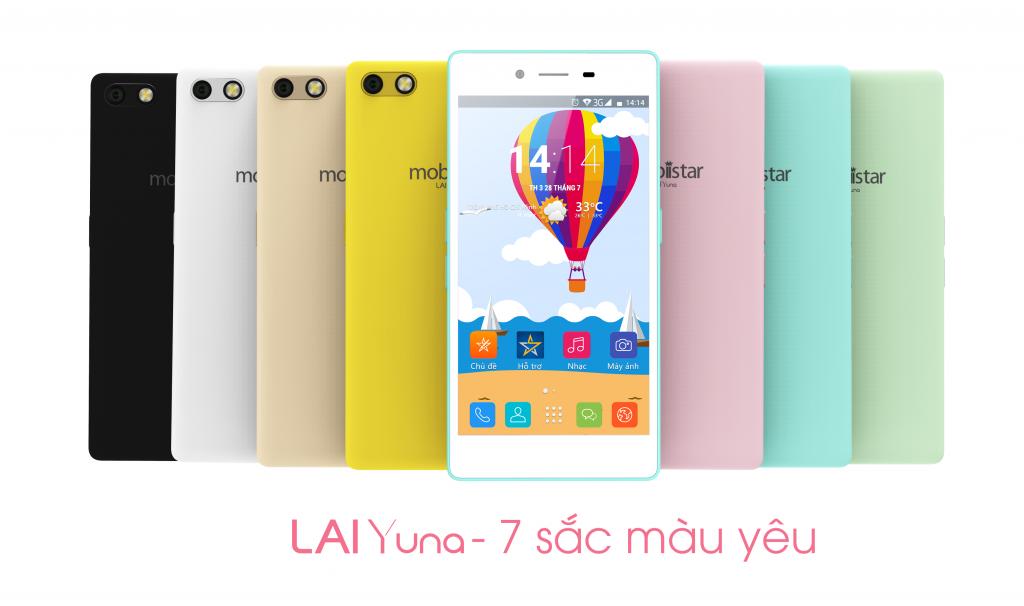 Mobiistar giới thiệu Lai Yuna màn hình 5 inch giá 2,1 triệu